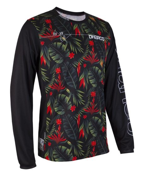 DHaRCO MTB | Mens LS Jersey Gravity Tropical | Front