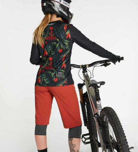 DHaRCO MTB | LADIES GRAVITY JERSEY | TROPICAL DH | Back