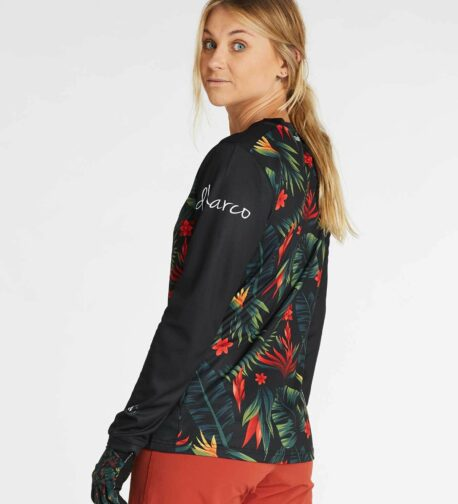 DHaRCO MTB | LADIES GRAVITY JERSEY | TROPICAL DH | Side