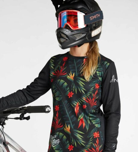 DHaRCO MTB | LADIES GRAVITY JERSEY | TROPICAL DH | Front