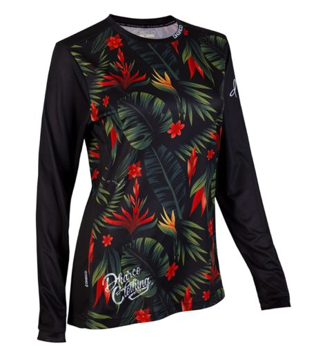 DHaRCO MTB | Ladies LS Jersey Gravity Tropical DH | Front