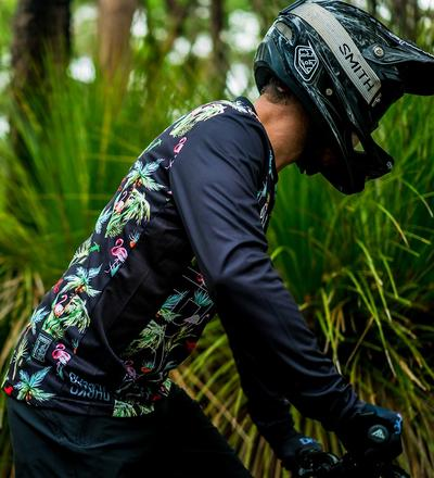 DHaRCO MTB | Mens LS Jersey Gravity Party | Side