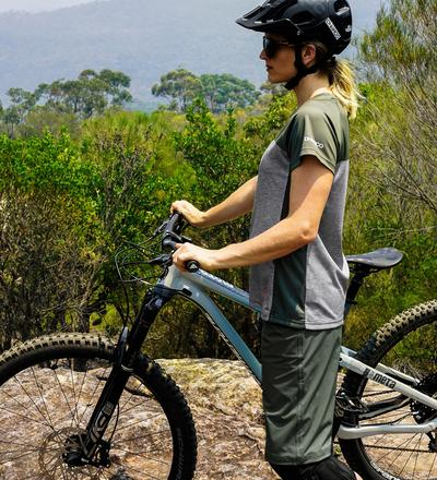 DHaRCO MTB | Ladies SS Jersey Camo Storm | Side