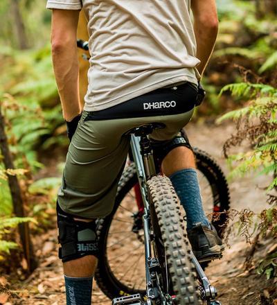 DHaRCO MTB | Mens Gravity Shorts | Camo | Backside