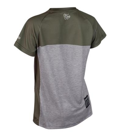 DHaRCO MTB | Ladies SS Jersey Camo Storm | Back