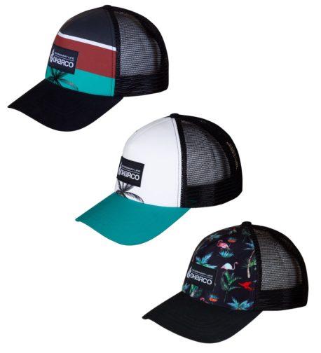 DHaRCO MTB | Curved Peak Trucker Hat | 3 Styles