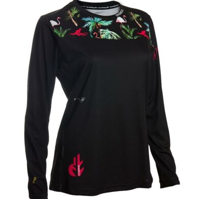 DHaRCO MTB | LADIES GRAVITY JERSEY | FLAMINGO | Front