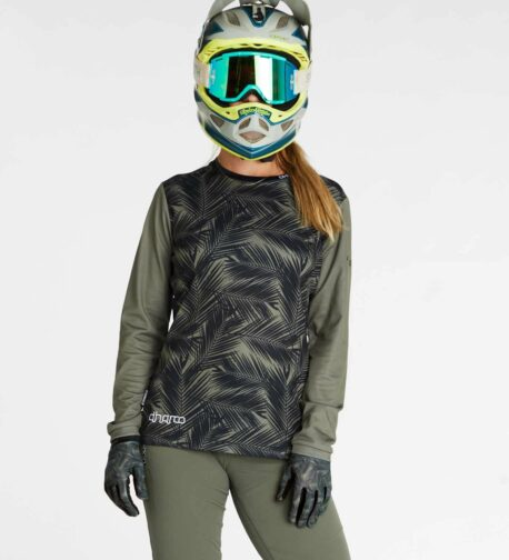 DHaRCO MTB | LADIES GRAVITY JERSEY | CAMO BLADES | Front