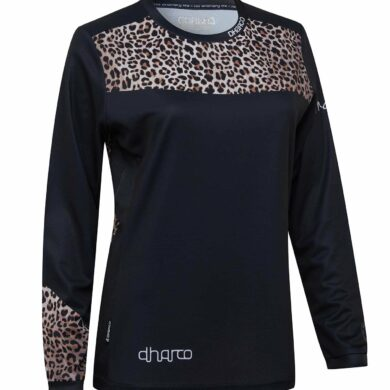 DHaRCO MTB | LADIES GRAVITY JERSEY | LEOPARD | Front