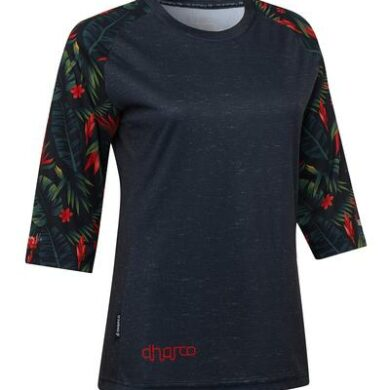 DHaRCO MTB | LADIES 3/4 SLEEVE JERSEY | TROPICAL | Front
