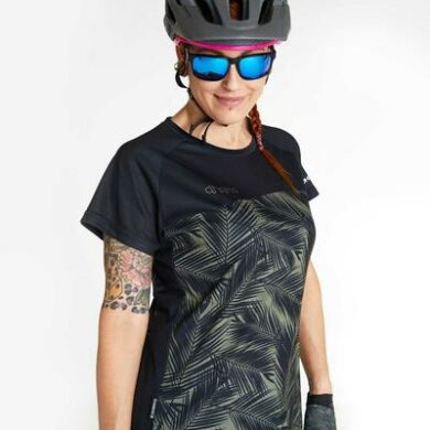 DHaRCO MTB | LADIES SS JERSEY | CAMO BLADES | Front