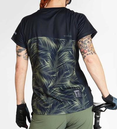 DHaRCO MTB | LADIES SS JERSEY | CAMO BLADES | Back